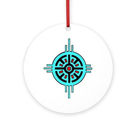 Medicine Wheel Ornament (Round)