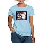 Westie US Flag Patriotic Women's Light T-Shirt
