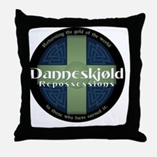 Danneskjold Repossessions Shield Throw Pillow