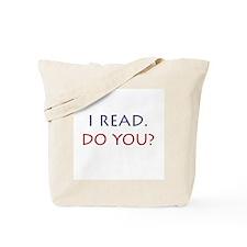 I Read Tote Bag