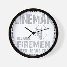 lineman because 1 Wall Clock