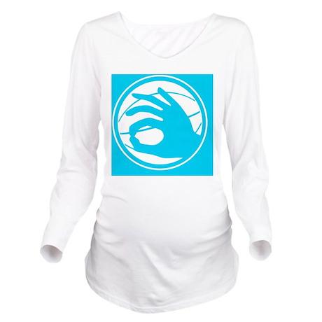 tshirt designs 0702 Long Sleeve Maternity T-Shirt