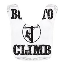 born to climb 1 Bib