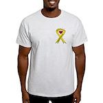 Military Brother Yellow Ribbo Light T-Shirt