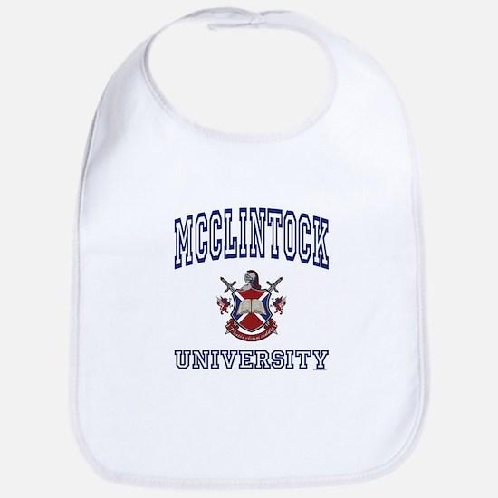 MCCLINTOCK University Bib