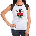 Made In Kenya Women's Cap Sleeve T-Shirt