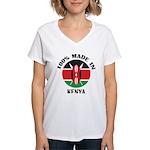 Made In Kenya Women's V-Neck T-Shirt