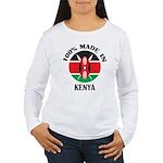 Made In Kenya Women's Long Sleeve T-Shirt