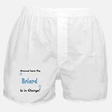 Briard Charge Boxer Shorts
