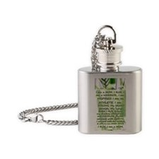 water_bottle_runner Flask Necklace