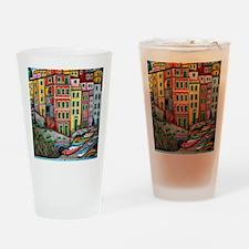 RiomaggioreProPicHS-AR Drinking Glass