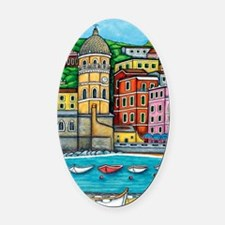 Vernazza-HSPropicAR Oval Car Magnet