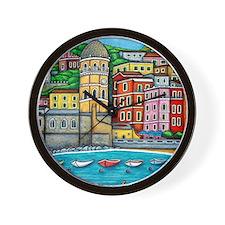 Vernazza-HSPropicAR Wall Clock