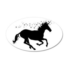 Magical Unicorn Silhouette Wall Decal