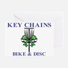 Key Chains logo 2 Greeting Card