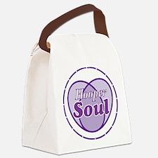Purple Hooper Soul Canvas Lunch Bag