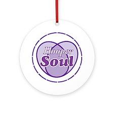 Purple Hooper Soul Round Ornament