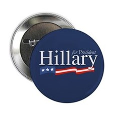 Hillary for President Poster Button