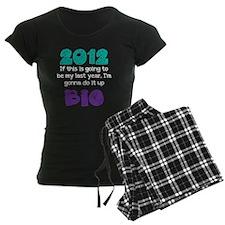 2012 black shirt Pajamas