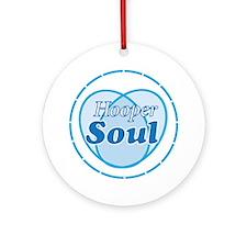 Hooper Soul Blue Round Ornament