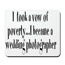 B_wedding_photog Mousepad