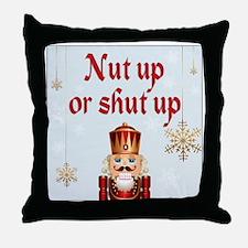 Nut up light Throw Pillow