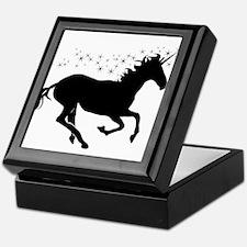 Magical Unicorn Silhouette Keepsake Box