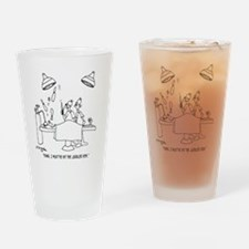 6677_juggling_cartoon Drinking Glass