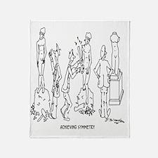 0187_art_cartoon Throw Blanket