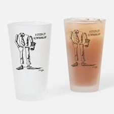 1124_geography_cartoon Drinking Glass