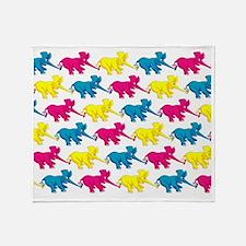 elephant_tug_mpad_1 Throw Blanket