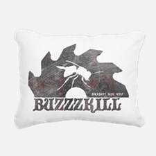 Buzzzkill - Disc Golf -  Rectangular Canvas Pillow