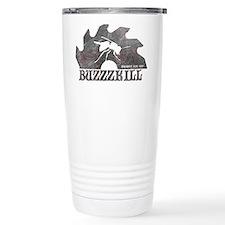 Buzzzkill - Disc Golf - Birdsho Travel Mug