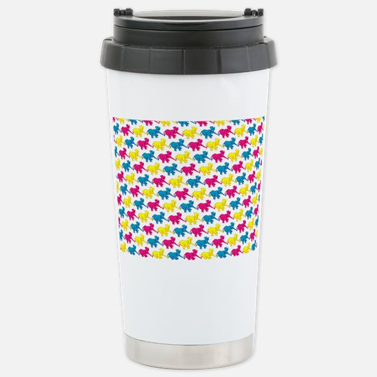 elephant_tug_shouldbag Stainless Steel Travel Mug