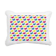 elephant_tug_shouldbag Rectangular Canvas Pillow