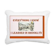 everything Rectangular Canvas Pillow
