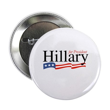 Hillary for President 2008 Button