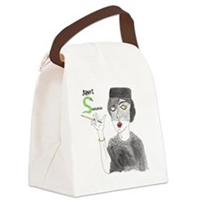 JanetSnakehole-Pollux2 Canvas Lunch Bag