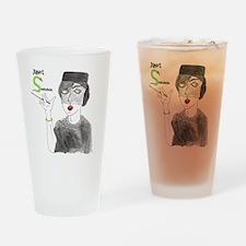 JanetSnakehole-Pollux2 Drinking Glass