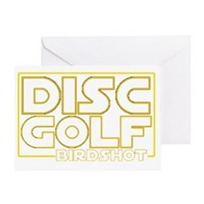 Star Wars - Disc Golf - Birdshot Greeting Card