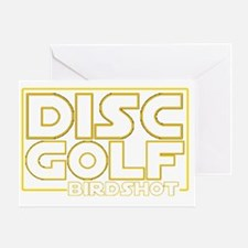 Star Wars - Disc Golf - Birdshot Greeting Card