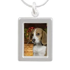 2011BeagleOrn Silver Portrait Necklace