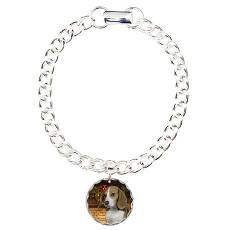 2011BeagleOrn Charm Bracelet, One Charm