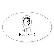 Hill Raiser Oval Decal