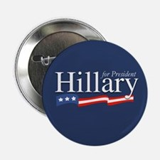 """Hillary for President Poster 2.25"""" Button (10 pack"""