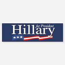 Hillary for President Poster Bumper Bumper Bumper Sticker