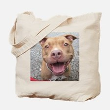 Bailey Smiley-Card Tote Bag