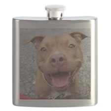 Bailey Smiley-Card Flask