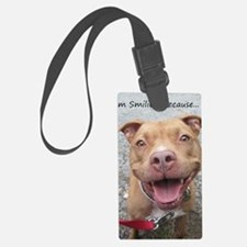 Bailey Smiley-Card Luggage Tag