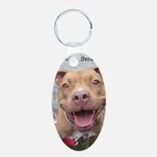 Bailey Smiley-Card Keychains